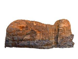 wadi rum mountains mars 3D