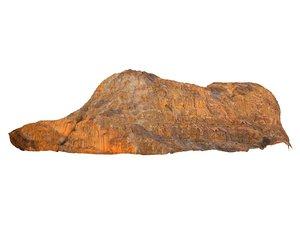 3D wadi rum mountains mars model