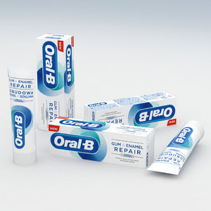 toothpaste 3D