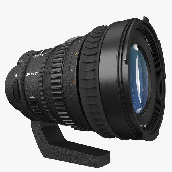 sony 28-135mm 3d model