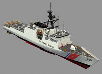 USCGC BERTHOLF US COAST GUARD CUTTER