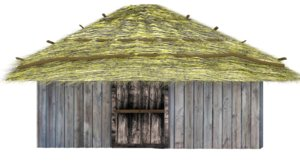 3D cabaa antigua model
