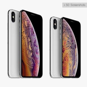 3D iphone xs apple