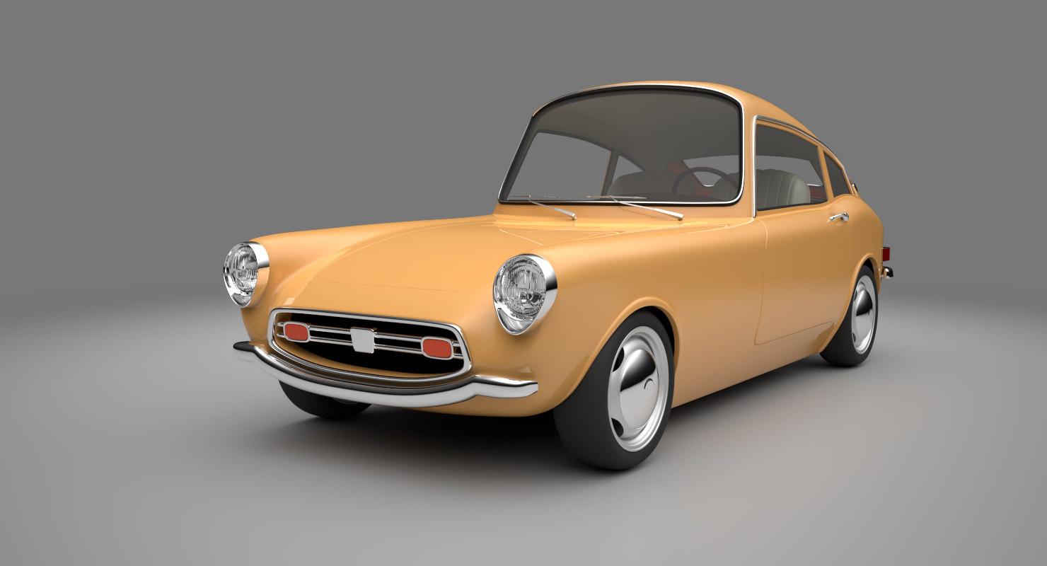cartoon car s800 model