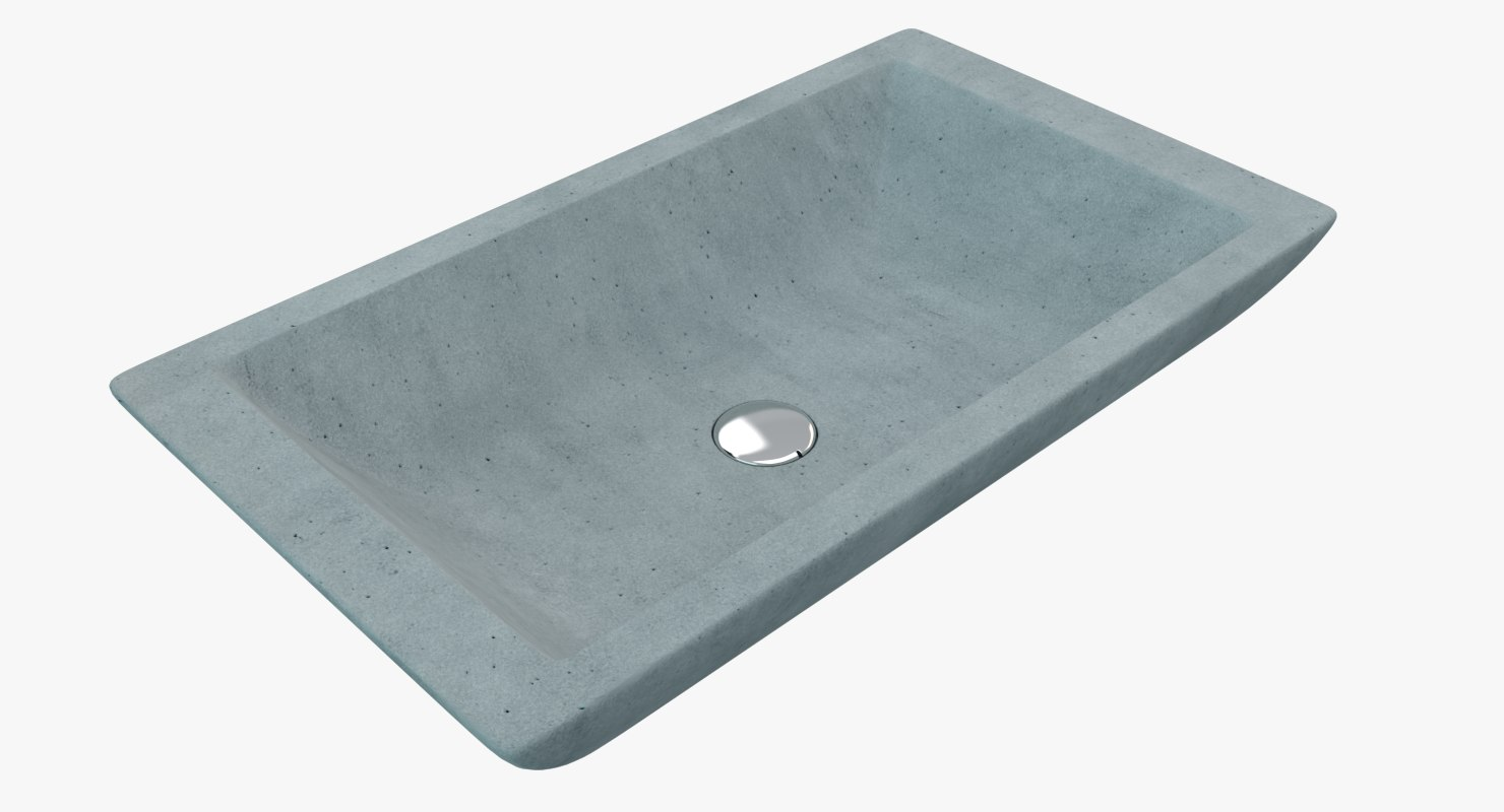 concrete sink model
