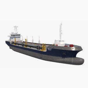 3D dredging vessel