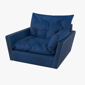 3D baxter sorrento chair model