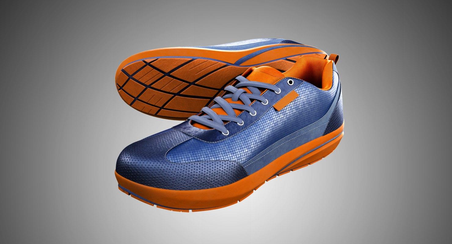 3D model sport shoes