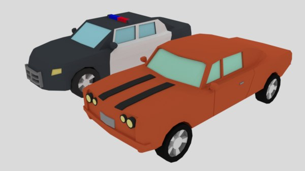 muscle car police model