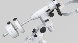 telescope scope mount 3D model