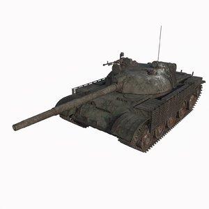 tank abandoned model