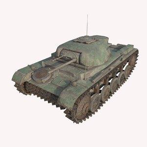 3D tank abandoned