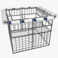 shark proof cage 3D