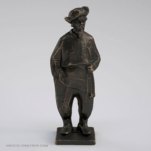 scan slavic grandpa statue 3D model