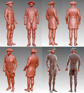 3D model 18 s musketeer
