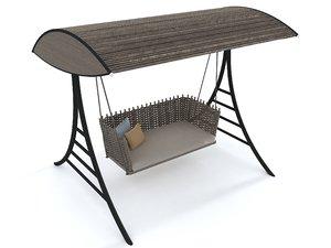 3D cane line swing model