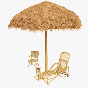 3D sunshade canopy chairs lounge