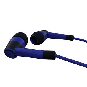 3D earphones aux