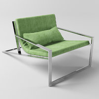 blau singular lounge chair 3D model