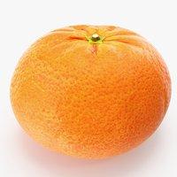 mandarin 01 3D model