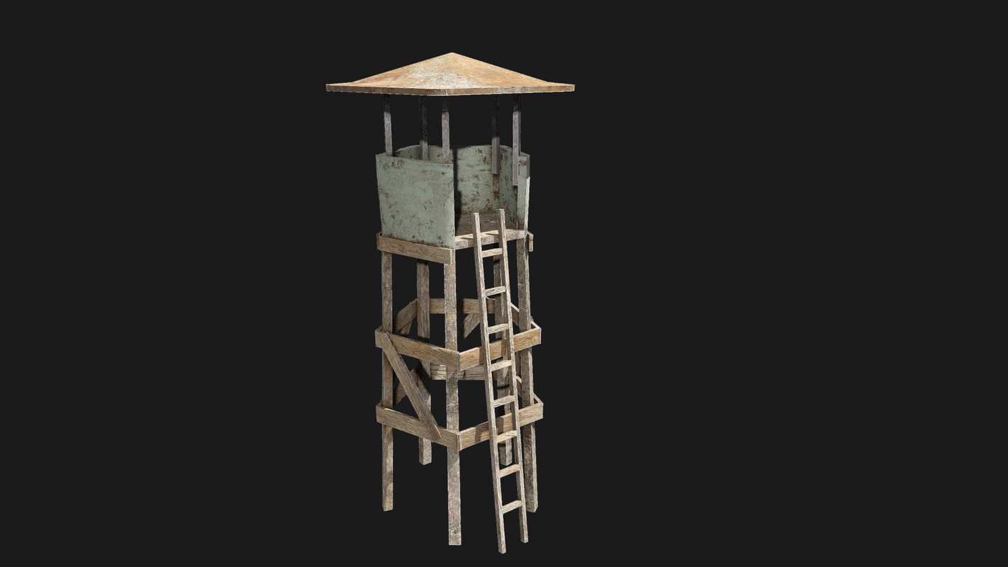 3D watch tower