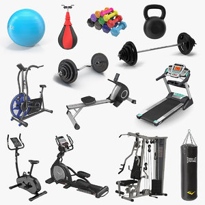 gym 3 3D model