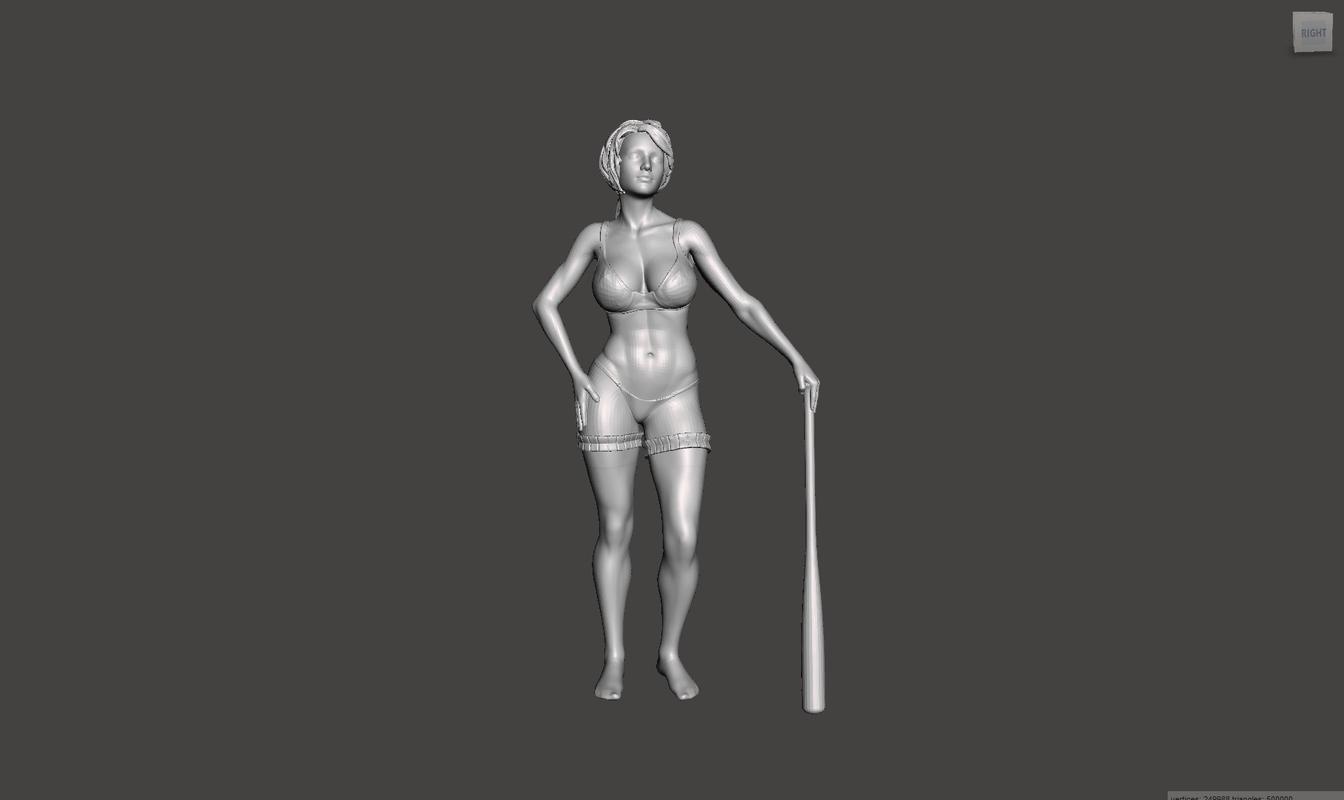 3D printable realistic model
