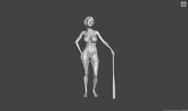3D printable realistic model