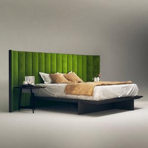 3D model backstage bed roche bobois