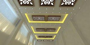 ceiling decor 3D model