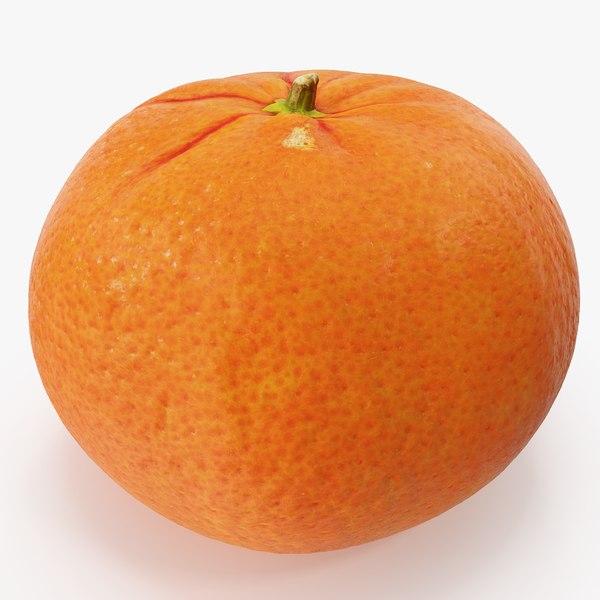 3D mandarin 02