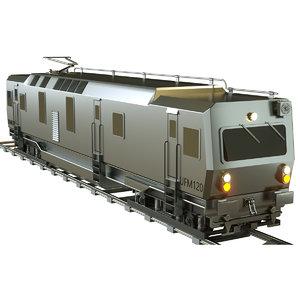 3D ufm 120 train model