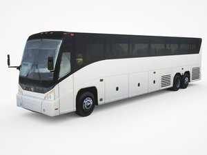 3D 2015 mci j4500 highway model