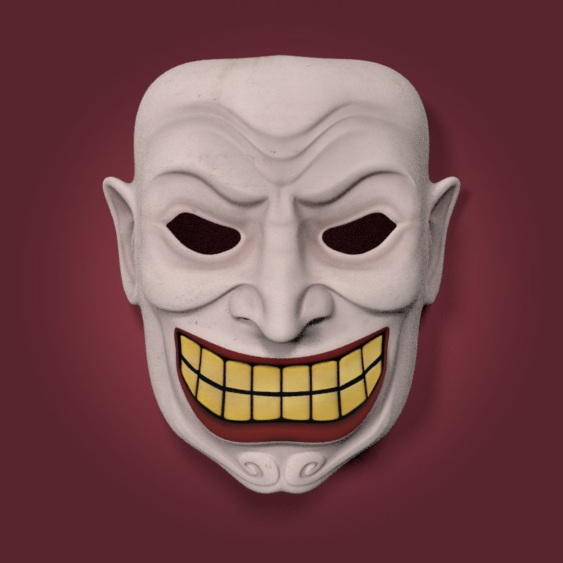 clown mask model