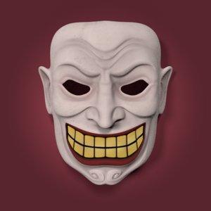 clown mask model