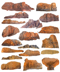 3D wadi rum mountains pack