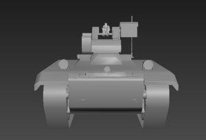 robot complex 3D model