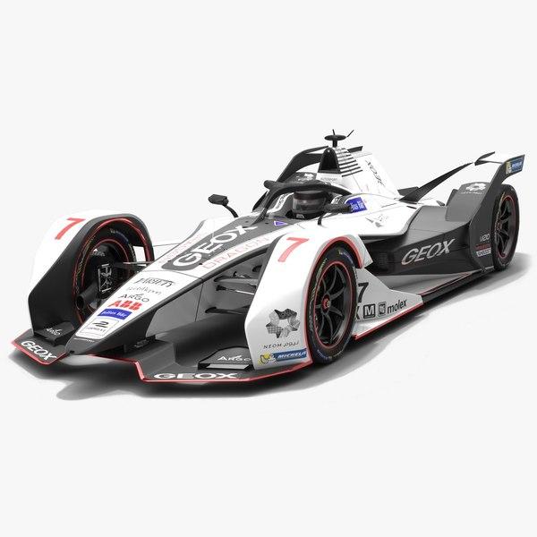 geox dragon racing formula 3D model