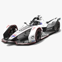 geox dragon racing formula 3D model