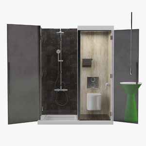 3D shower model