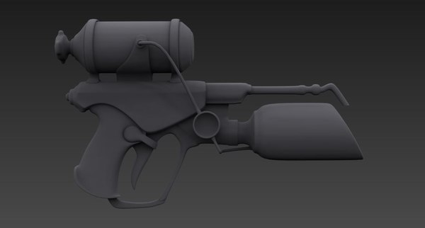 weapon gun model