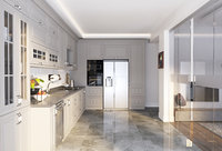 3D realistic kitchen scene