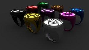 rings lanterns model