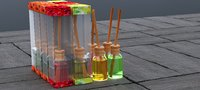 3D model grom scent reed diffuser