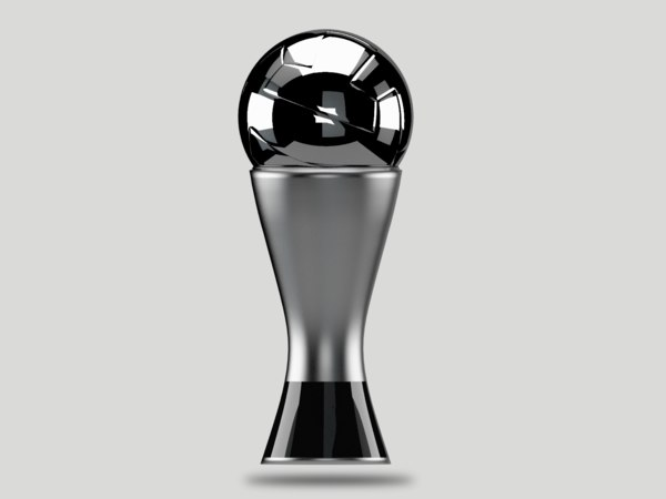 trophy best football soccer 3D