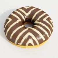 donut dessert model