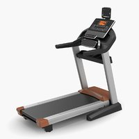 fitness treadmill pro rigged 3D