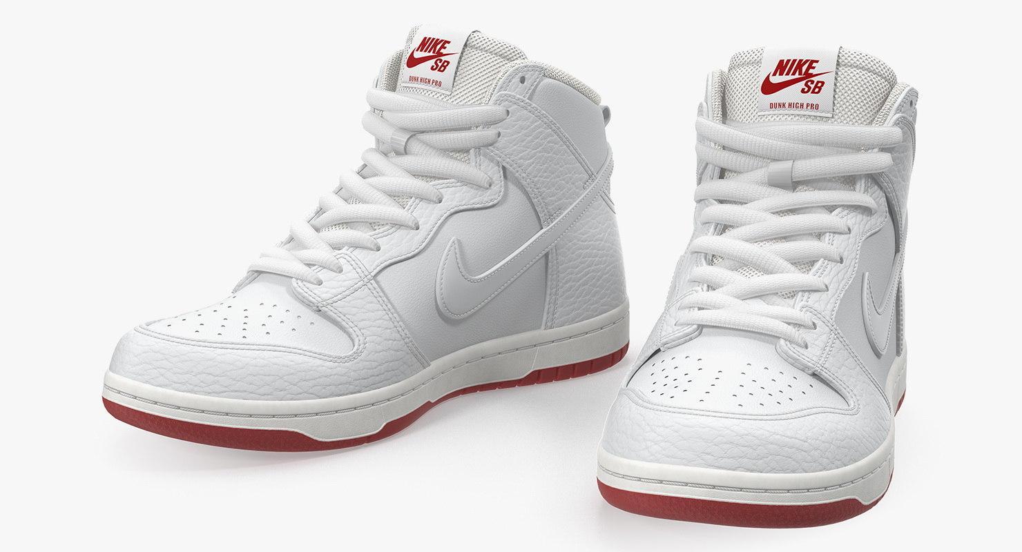 pas mal 8e2e5 0ce52 Nike SB Dunk High Pro White