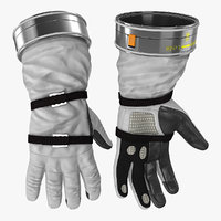 spacesuit gloves space 3D model