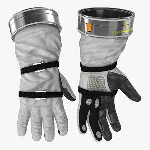 spacesuit gloves space 3D model